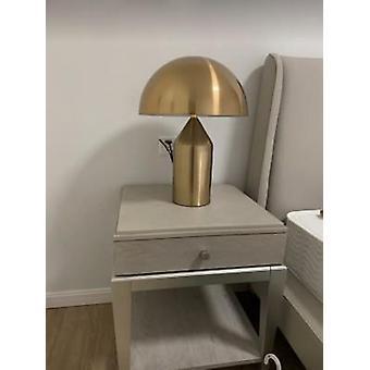 Lampe de table moderne de chambre à coucher, métal, lampes de chevet de champignon Art Déco