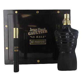 Jean Paul Gaultier Le Male 125ml Eau de Parfum Spray, 10ml Eau de Parfum Spray Gift Set for Men