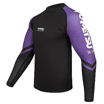 Fumetsu Competitor MK1 Long Sleeve Rash Guard Purple