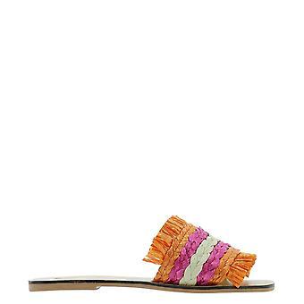 Manebí S71y0 Women's Multicolor Canvas Sandals