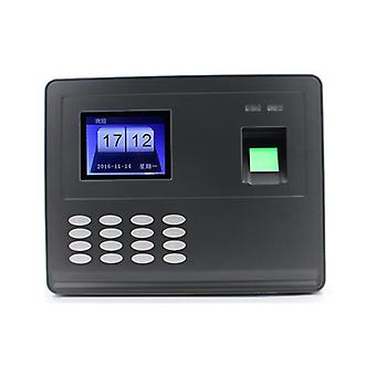 DOGNWEI F02 Intelligent Biometric Fingerprint Password Attendance Machine Employee Checking-in Recor