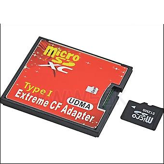 Micro Sd Sdhc Sdxc To Cf adaptér karty Microsd to Cf Card Extreme Compact
