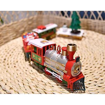 Světla a zvuky Vánoční vlaková sada Železniční tratě (bílá)