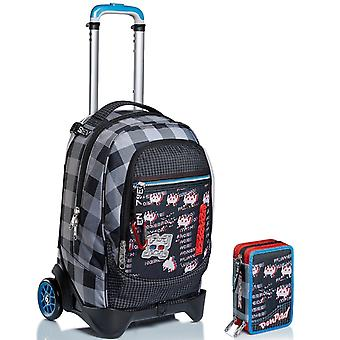 Schul-Kit - Trolley-Buchse 2WD SEVEN + PEN PAD CASE - SPACE CHECK