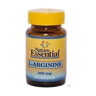 L-Arginine 50 capsules of 500mg