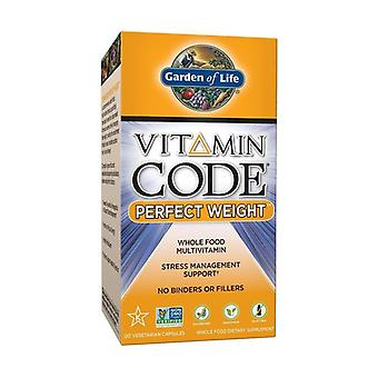 Vitamin code Perfect Weight 120 vegetable capsules