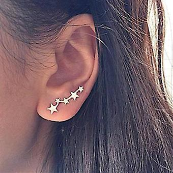 Simple Geometric Stud Earrings Set