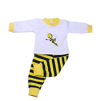 Cute Pajamas Doll Clothes, Dress For New Born Baby