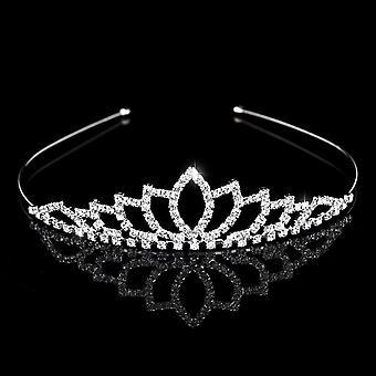 Τιάρες κρυστάλλου και κορώνες Λουλούδι παιδιών headband & κοσμήματα τρίχας