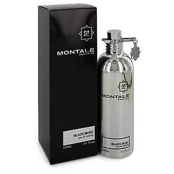 Montale svart musk av Montale Eau de Parfum spray (unisex) 3,4 oz (kvinner) V728-543337