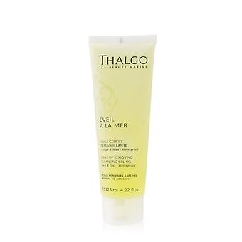 Thalgo Eveil A La Mer Make-Up Removing Cleansing Gel-Oil (For Face & Eyes - Waterproof) 125ml/4.22oz