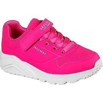 Skechers Girls Uno Lite Sports Trainers