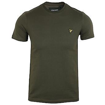 Lyle & scott men's trek green t-shirt