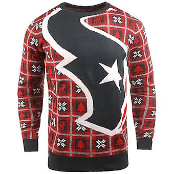 NFL Ugly Sweater XMAS Knit Sweater - Houston Texans