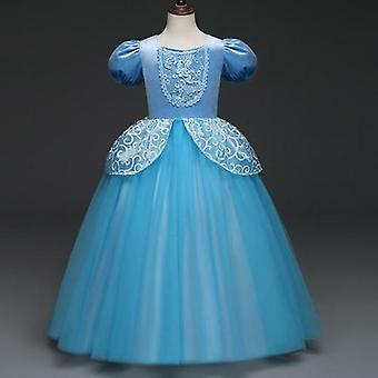 Disney Cinderella Prinzessin Kleid Kinder Kleider Party Ball Kleid