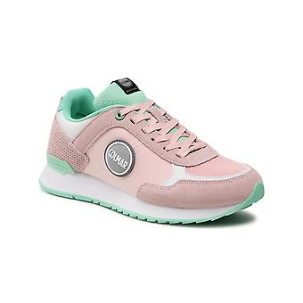 Shoes Women's Colmar Sneaker Running Travis Mellow 136 Pink/ Water Green Ds21co05