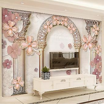 Jewel Pearls Photo Murals Wallpaper 3d Living Room Tv Sofa Luxury Home Decor