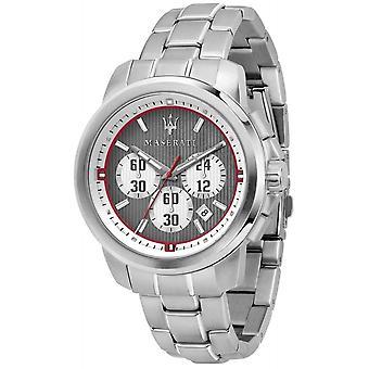 Maserati R8873637003 Montre-bracelet en acier Royale Chronographe