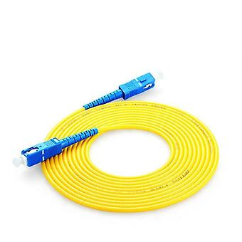 Sc To Upc 1~20 Meters Optical Patch Cord Cable 3.0mm Pvc Fiber Jumper Simplex