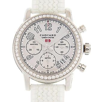 Chopard Mille Miglia Chronograph Automatic Diamond White Dial Men's Watch 178588-3001