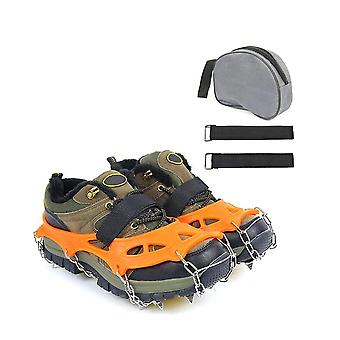 19-Spikes Edelstahl - Crampons Traction Cleats, Anti-Rutsch-Griffe, Eis-Schnee
