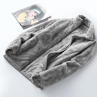 Autumn Winter Thermal Fleece Jacket, Men, Women, Outdoor Warm Sport, Running,