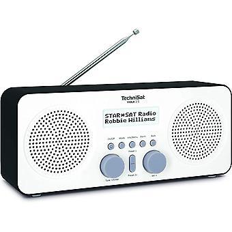 HanFei VIOLA 2 S - tragbares DAB Radio (DAB+, UKW, Wecker, Stereo Lautsprecher, Kopfhreranschluss,
