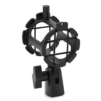 Supporto per microfono a clip a clip con attacco d'urto del microfono del microfono a condensatore portatile sopportabile