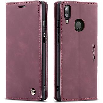 Wokex Handyhlle Kompatibel mit Samsung Galaxy A40, Premium Leder Flip Case Schutzhlle mit