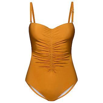 Féraud Voyage 3215004-10028 Women's Gold Swimsuit