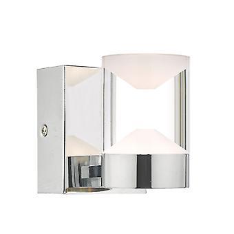 W,  Light Polished Chrome & Acrylic LED Bathroom IP44