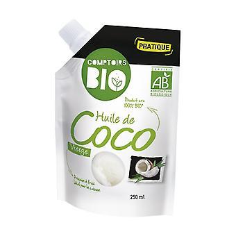 Organic Virgin Coconut Oil 250 ml of oil