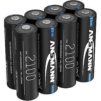 FengChun Akku AA 2100mAh NiMH 1,2V - Mignon AA Batterien wiederaufladbar mit geringer