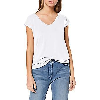PIECES Pckamala Tee Noos T-Shirt, White (Bright White Bright White), Medium Woman
