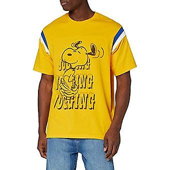 Levi's Football Tee T-paita, Hölkkääminen Snoopy Gold Fusion, M Miesten