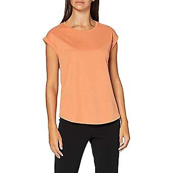 Mexx T-Shirt, Orange (Coral Gold 161337), Small Woman