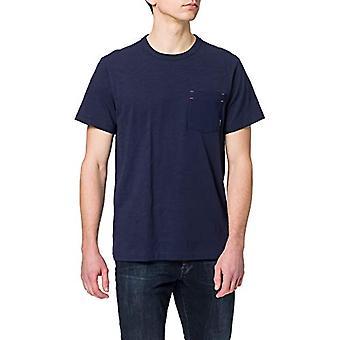 G-STAR RAW Contrast Mercerized Pocket T-Shirt, Sartho Blue B255-6067, XS Men