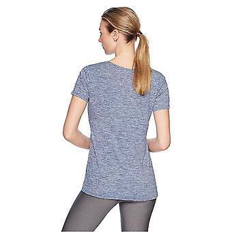 Essentials Women's 2-Pack Tech Stretch Short-Sleeve V-Neck T-Shirt, Black, Medium
