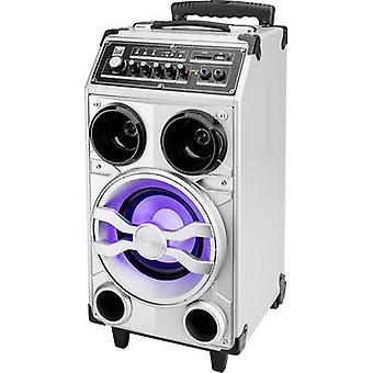 Dual DSBX 100 Portable PA speaker 16.5 cm 6.5 inch rechargeable 1 pc(s)