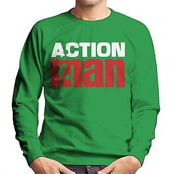 Action Man Red Logo Men's Sweatshirt