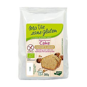 Organic chestnut and nutcracker cake 300 g