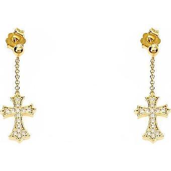 Amen croce bizantina strass korvakorut orczg