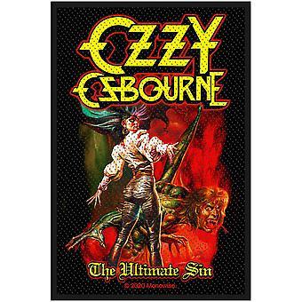 Ozzy Osbourne - The Ultimate Sin Standard Patch