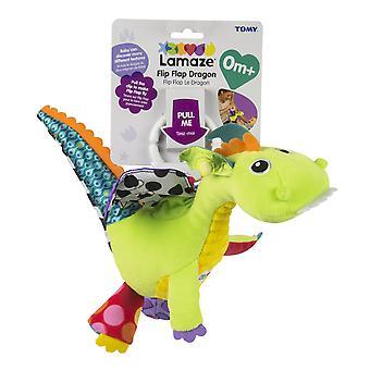 Lamaze Flip Flap Dragon Clip En El Juego Sensorial