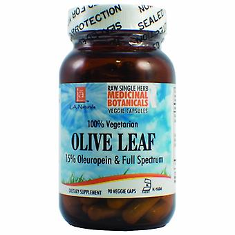 L. A .Naturals Olive Leaf Raw Formula, 90 Veg Caps
