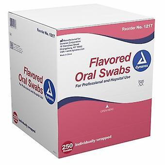 Dynarex Oral Swabstick Pink, Case of 1000