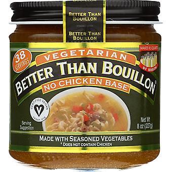 Better Than Bouillon Base Vegan Vgtrn No Chckn, Case of 6 X 8 Oz