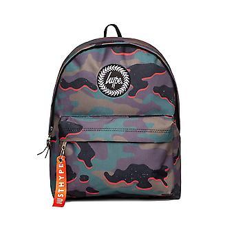 Hype Unisex Neon Camo Aop Mini Backpack