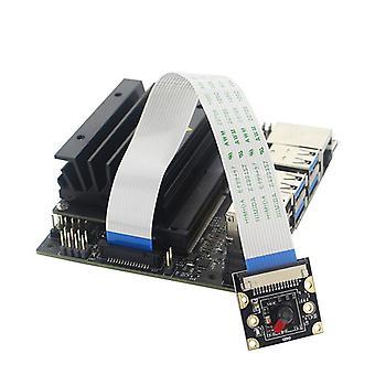 Tehokas pieni tietokone jetson nano 2gb -kehittäjäsarjalle, joka tarjoaa erinomaisen tekoälyn suorituskyvyn kameralla