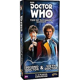Second Doctor and Sixth Doctor Expansion Pack Doctor Who Time of the Daleks